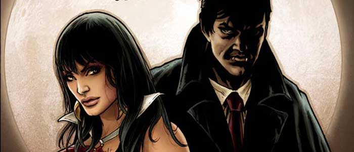 Dark Shadows/Vampirella #1 Cover